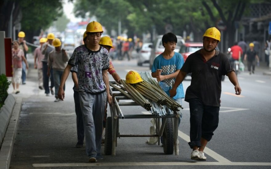 Kinų darbininkai
