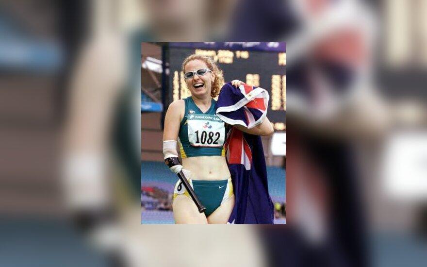 Australijos sportininkė