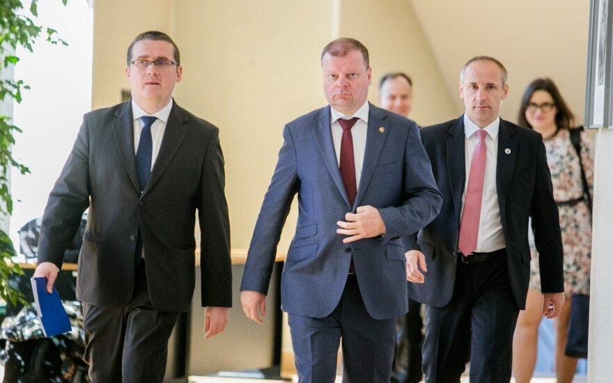 Skirmantas Malinauskas, Saulius Skvernelis