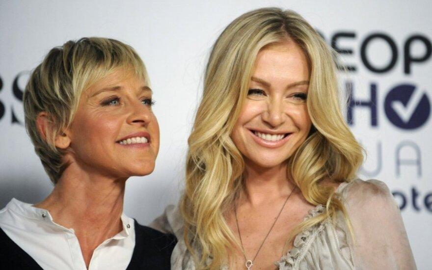 Ellen DeGeneres ir Portia de Rossi
