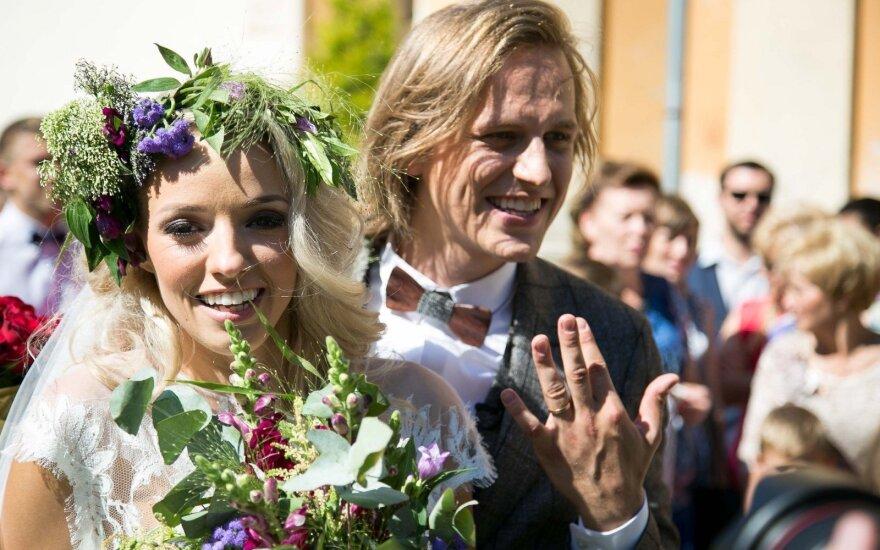 Anželos Adamovič ir Žygimanto Gečo vestuvės