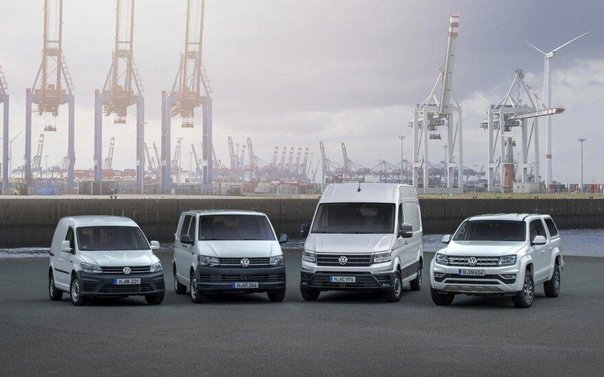 """""""Volkswagen"""" komerciniai lengvieji automobiliai"""