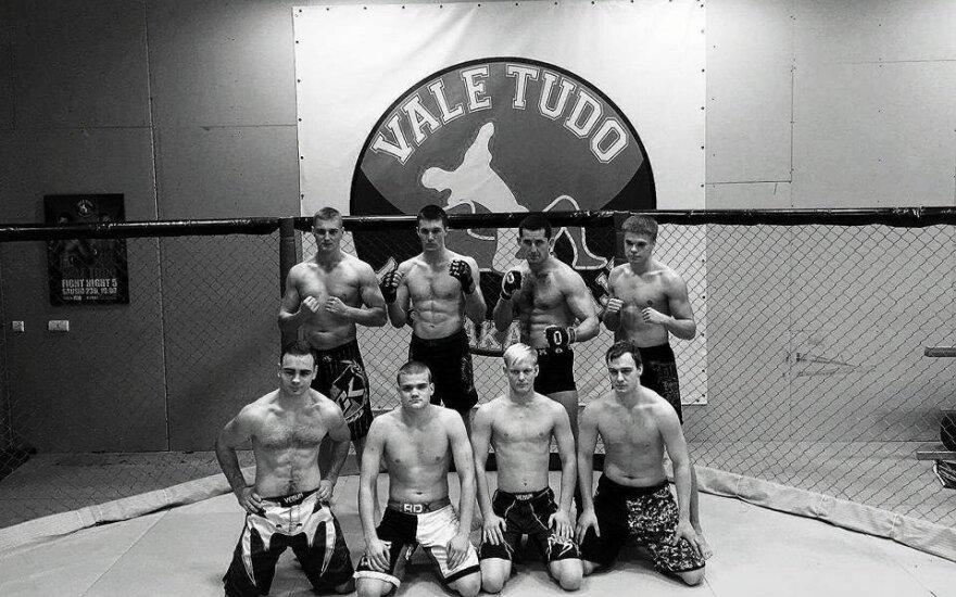 MMA kovų turnyro dalyviai