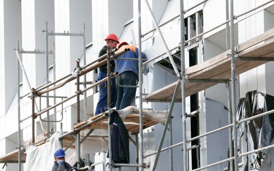 Gyventojai sakė, kad su statybininkais problemų neturėjo