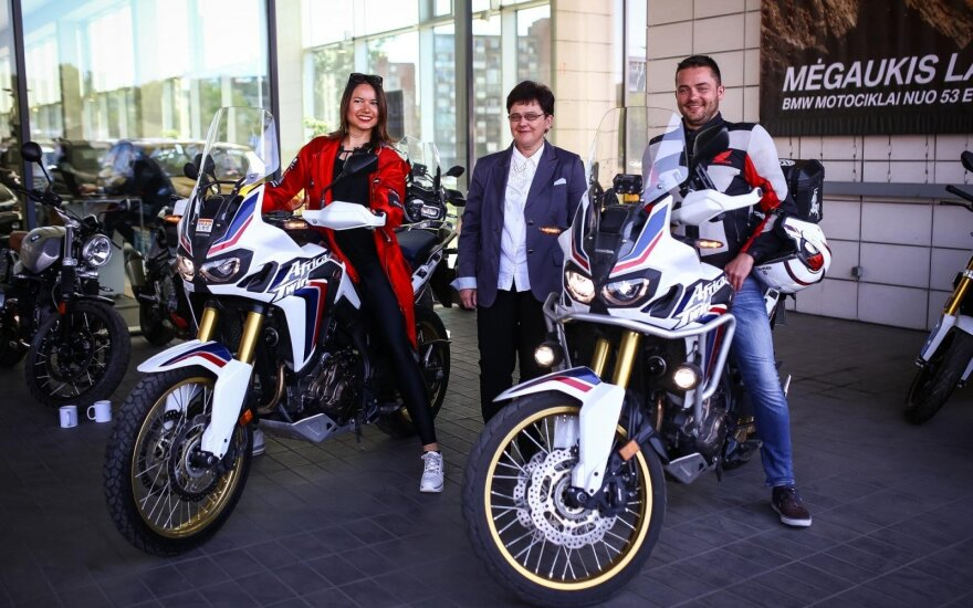 """""""BMW Mototurizmo Sprintas Vilnius-Kaunas"""" spaudos konferencija"""
