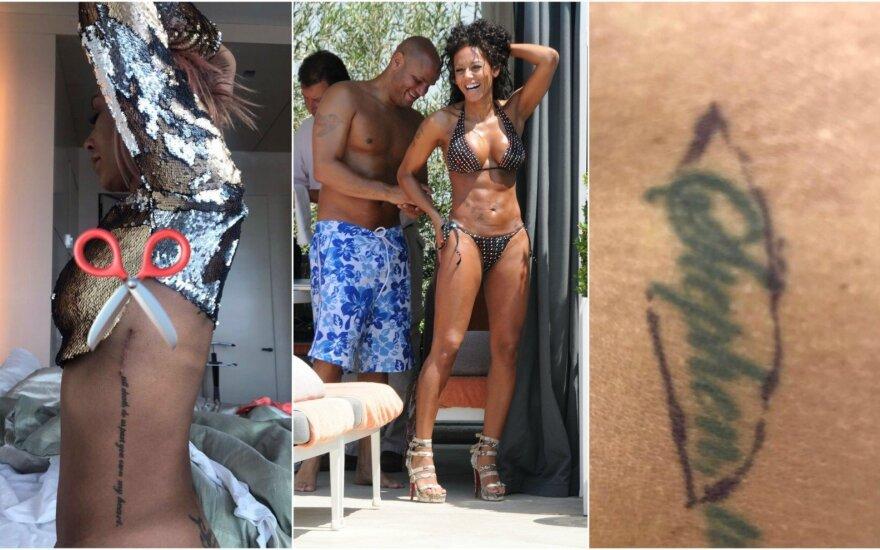 Mel B tatuiruotė