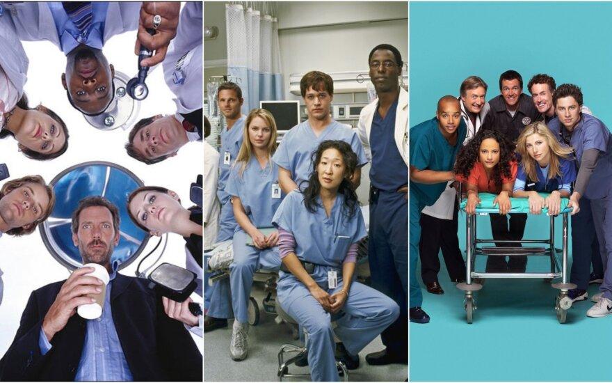 TV serialai apie mediciną