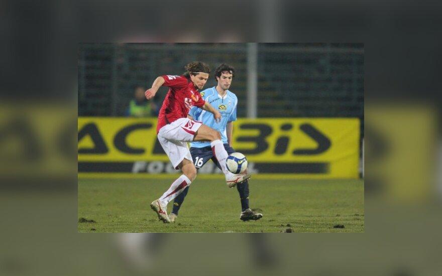T.Danilevičiaus klubas Italijos antrajame divizione užėmė trečią vietą ir tęs kovą dėl vietos elite