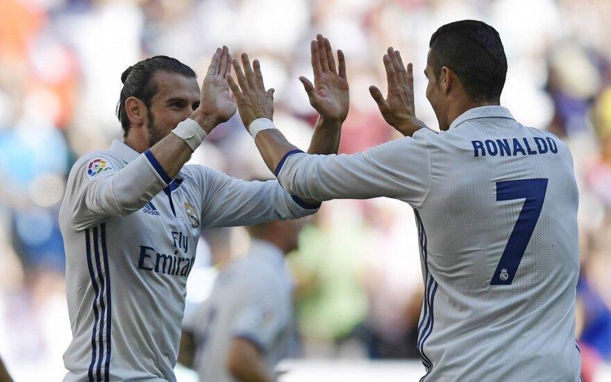 Garethas Bale'as, Cristiano Ronaldo