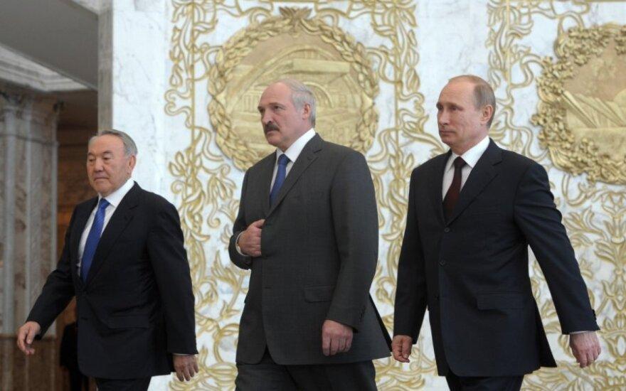 Nursultanas Nazarbajevas, Aleksandras Lukašenka, Vladimiras Putinas