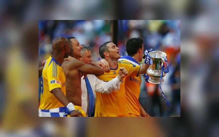 """Anglijos FA taurės turnyro nugalėtojai - """"Chelsea"""" klubas"""