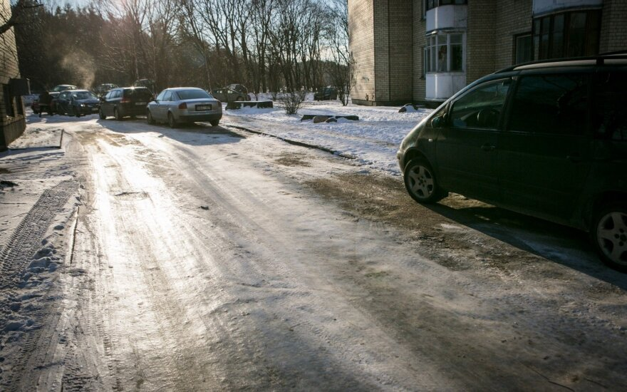Vilnius mayor apologizes for poor performance of road services