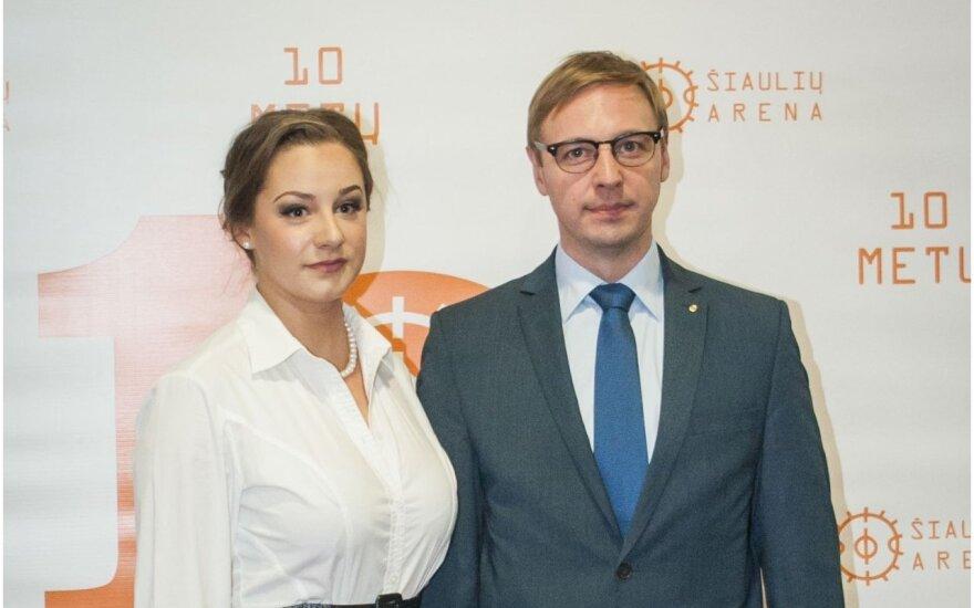 Aurimas Žvinys ir Eglė Stanišauskaitė