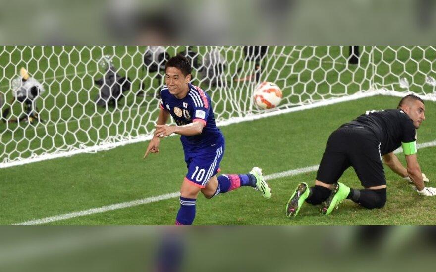 Shinji Kagawa pelnė įvartį