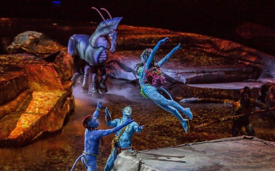 """""""Cirque du Soleil"""" šou """"TORUK – The First Flight"""""""