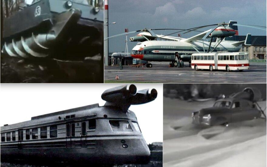 Keisčiausi sovietų aparatai: kai žvalgybininkai pirmą kartą pamatė nuotraukas, net pašiurpo