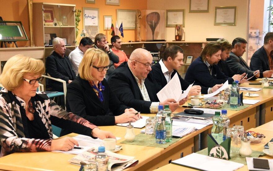 LTOK žiemos sporto šakų komisijos posėdis