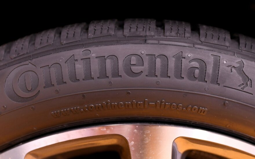 """Continental"" padangos"
