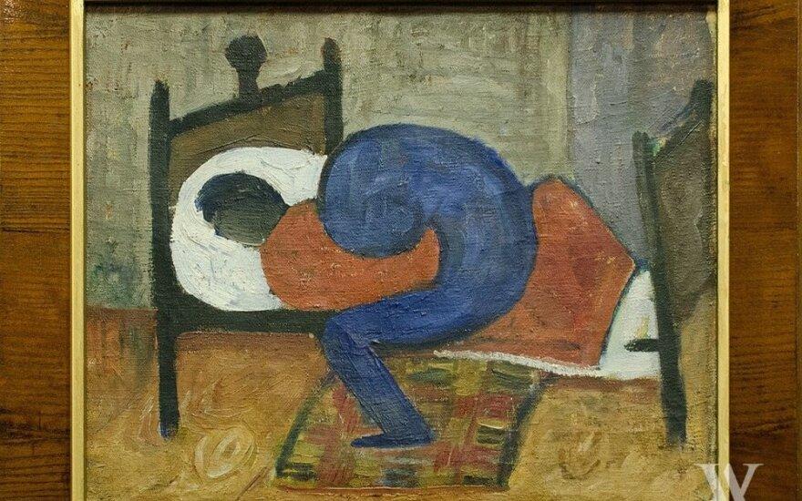 """Antanas Samuolis. """"Liga"""" (1931 m.)"""