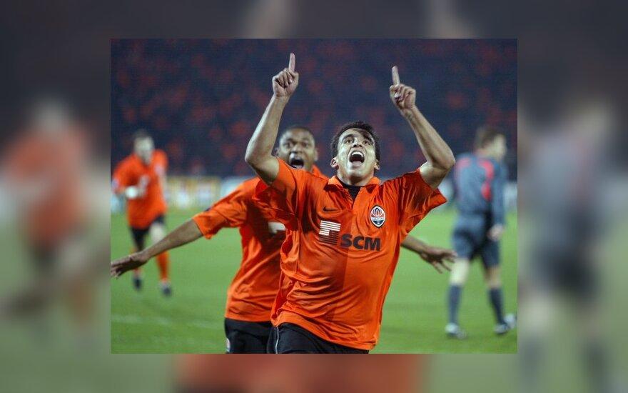 """UEFA taurės turnyre pergales šventė """"Šachtar"""" ir Vokietijos klubai"""