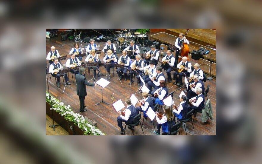 Pirmą kartą Lietuvoje – mandolinų orkestras