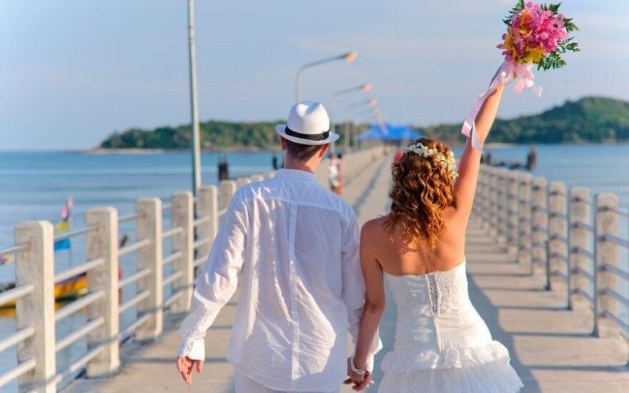 Vestuvių planuotoja rekomenduoja: medaus mėnesio kelionę užsisakykite iš anksto