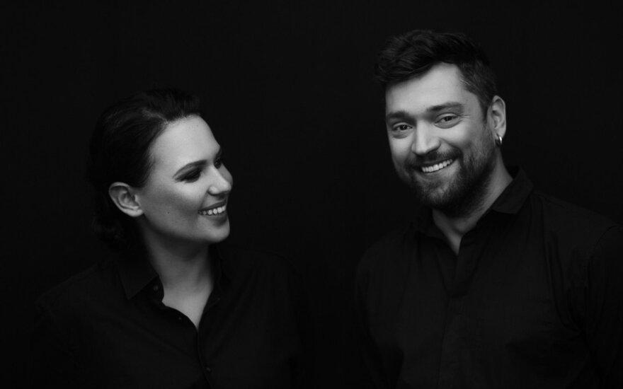 Justė Arlauskaitė-Jazzu ir Leonas Somovas Foto: Linas Masiokas