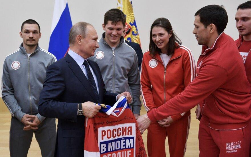 Vladimiras Putinas ir Pavelas Daciukas
