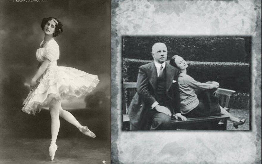 Legendinės primabalerinos Anos Pavlovos paslaptys: sutuoktiniui keršijo ilgai ir stebino širdies žiaurumu