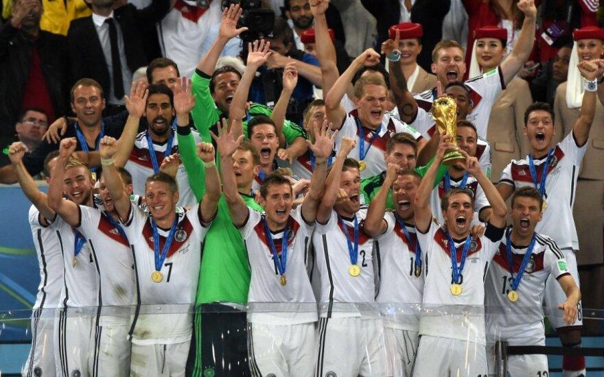 Istoriją perrašę vokiečiai – pasaulio čempionai