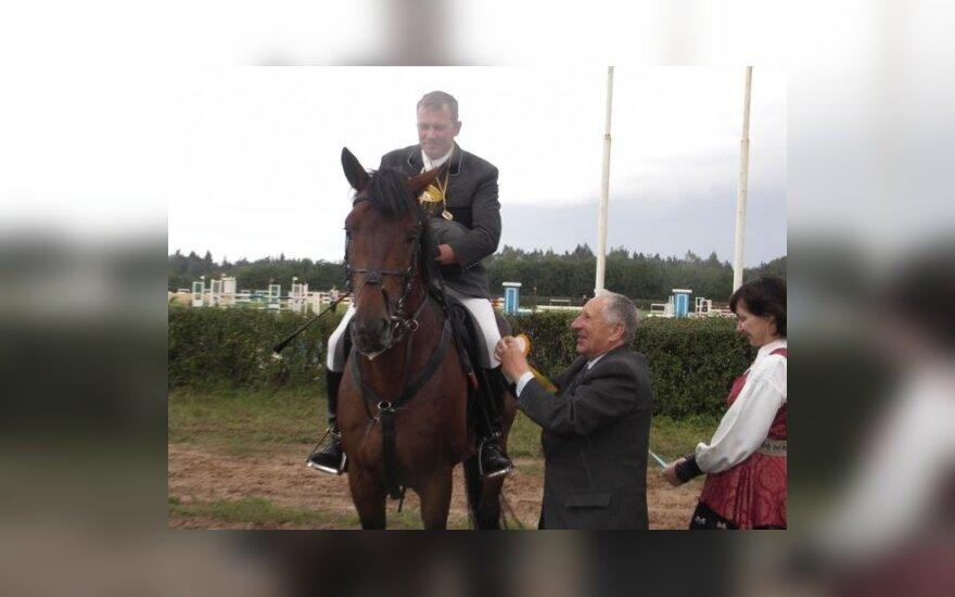 Daugkartinis Lietuvos konkurų nugalėtojas Stasys Jasas