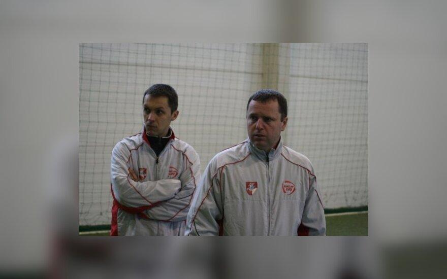 M.Čepas ir D.Kančelskis