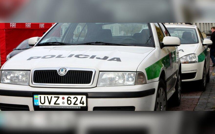 """Vilniaus policija neblaivių vairuotojų tykos """"Mobiliuose postuose"""""""