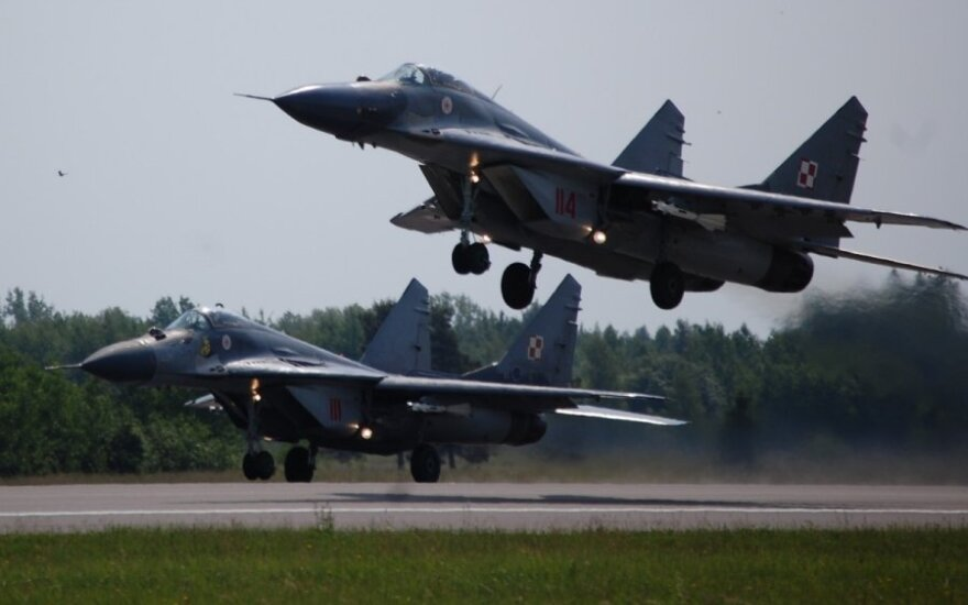 Poland sending four MiG-29s to Lithuania for air policing mission