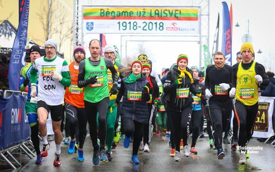 2018 metų bėgimas Mažeikiuose /  / FOTO: Rokas Lukoševičius