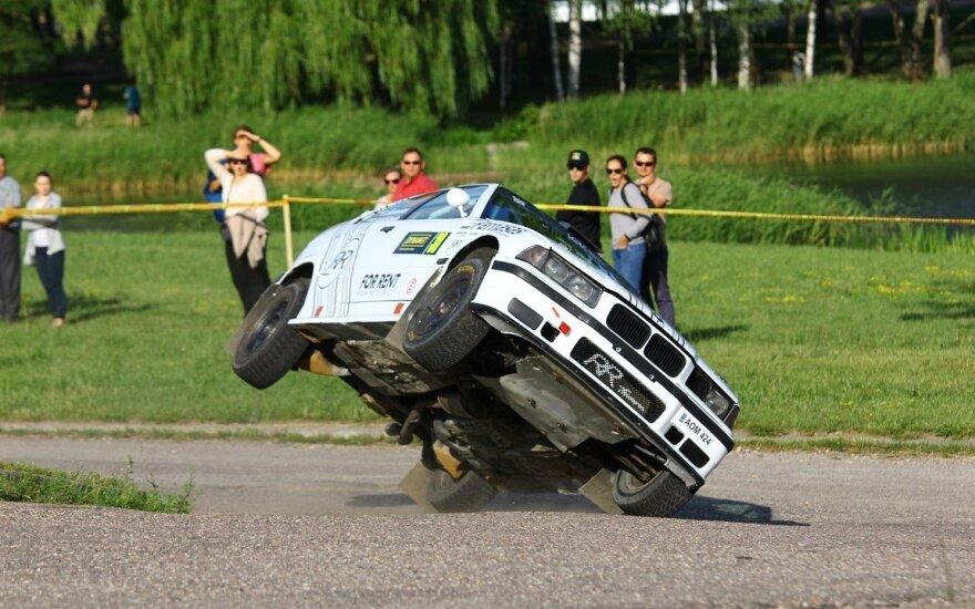 """""""Samsonas Rally Rokiškis"""" laukia BMW kova"""