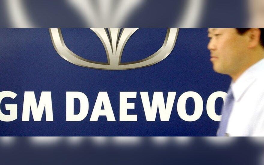 """General Motors"" atsisako ""Daewoo"" prekės ženklo"