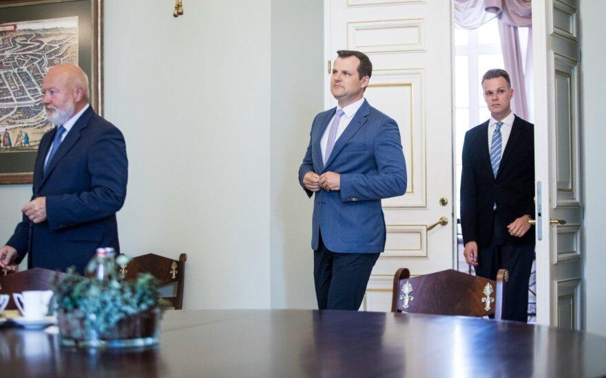 Eugenijus Gentvilas, Gintautas Paluckas, Gabrielius Landsbergis