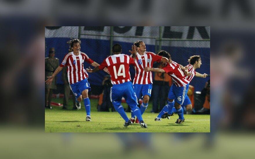 Paragvajaus futbolininkai