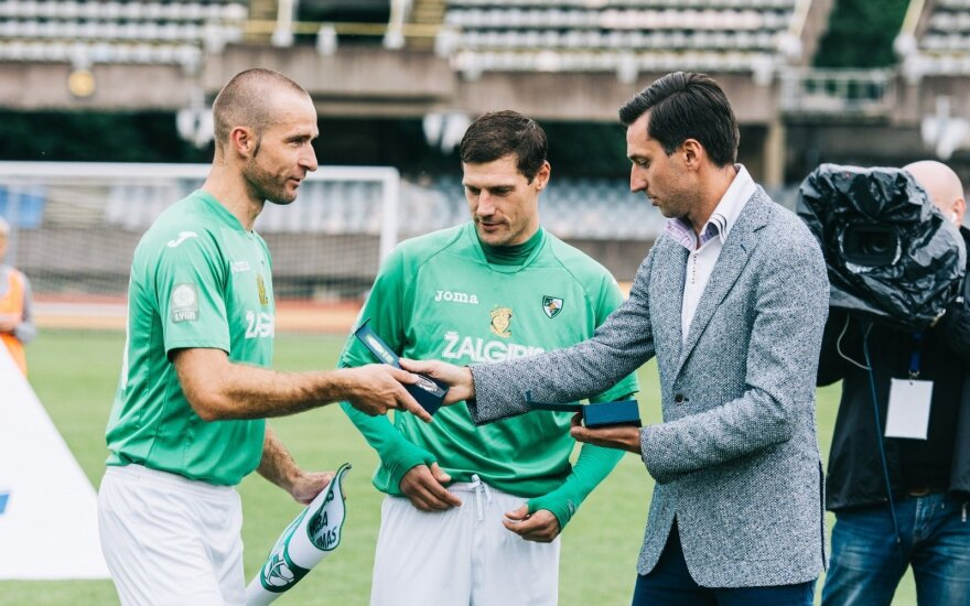 Ignas Dedura (kairėje) (Lino Žemgulio nuotr.)