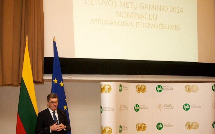 Lietuvos metų gaminio 2014 nominacijų apdovanojimų įteikimo iškilmės