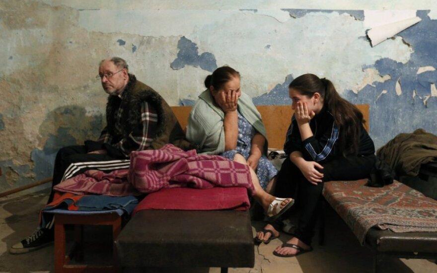Apšaudomos Donecko ligoninės rūsyje gimdžiusi moteris: negaliu patikėti
