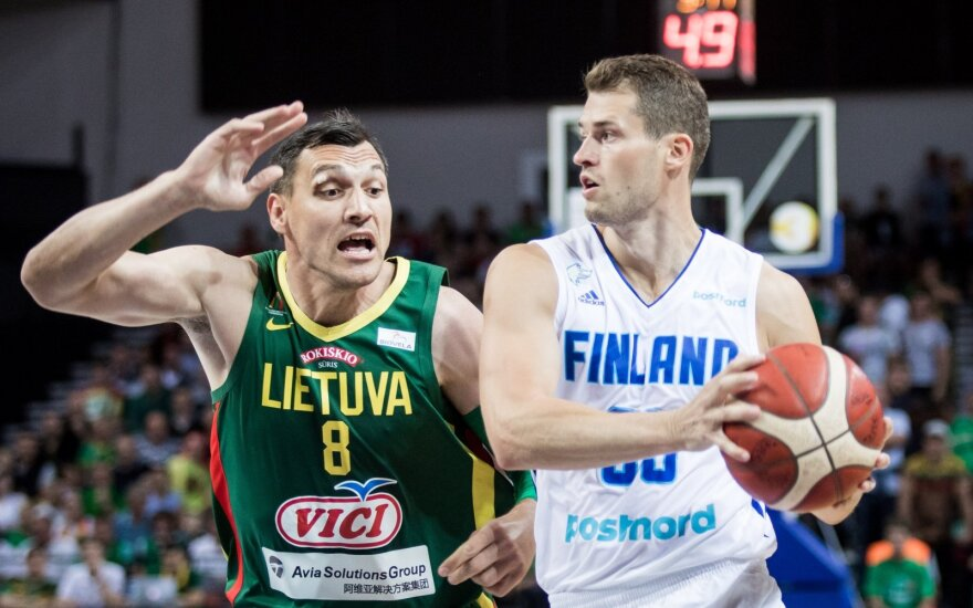 Finland receives an epic beat down from a highly motivated Lithuanian team