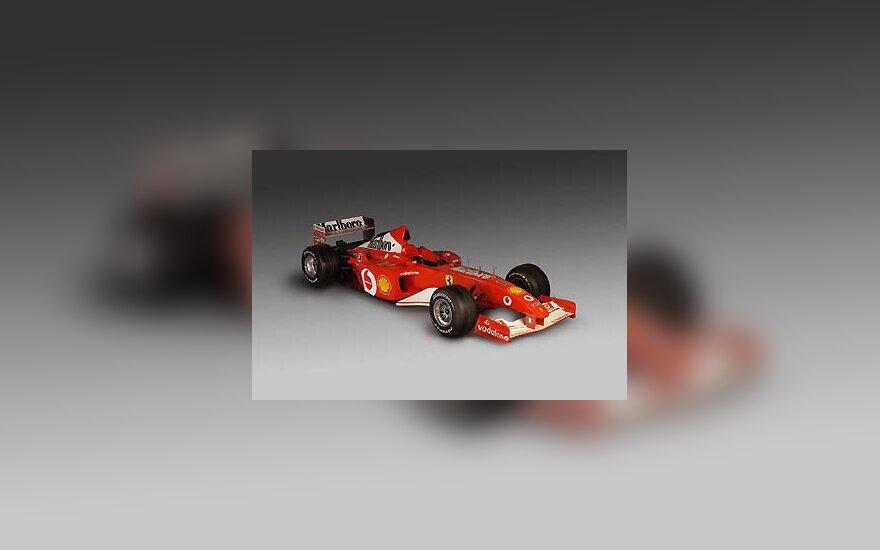 """""""Ferrari 2002"""" bolidas"""