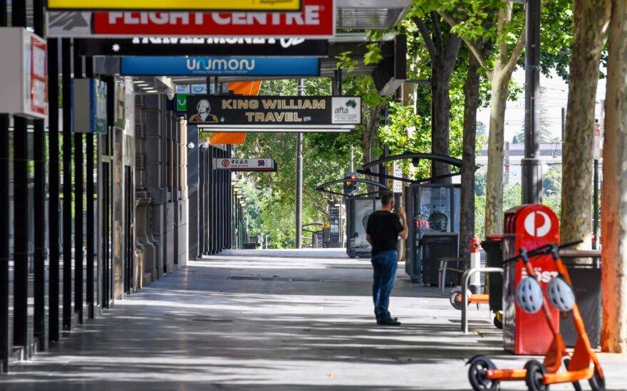 Adelaidė taps jau trečiuoju Australijos miestu, kuriame paskelbtas karantinas
