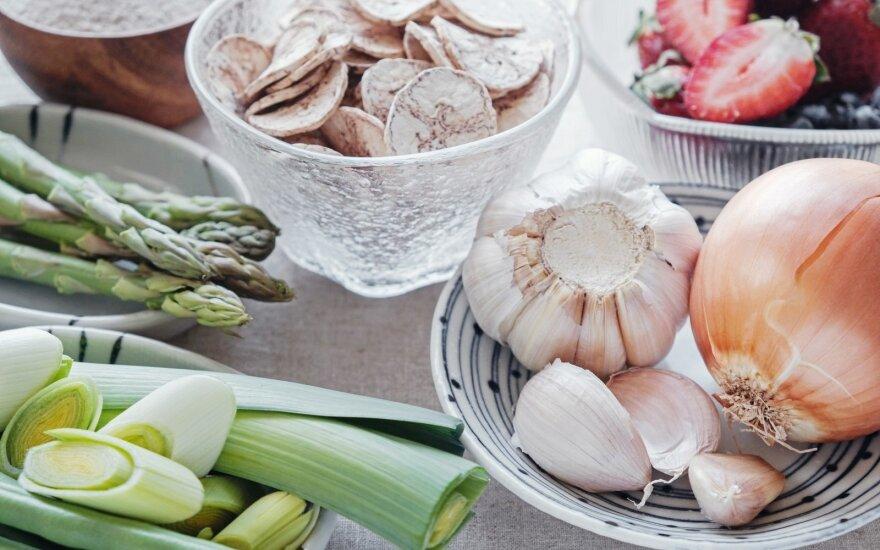 Prebiotikų turintis maistas