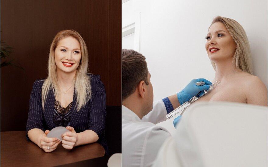 Natalija Bunkė gulasi ant operacinio stalo / Foto: Darius Gedvila