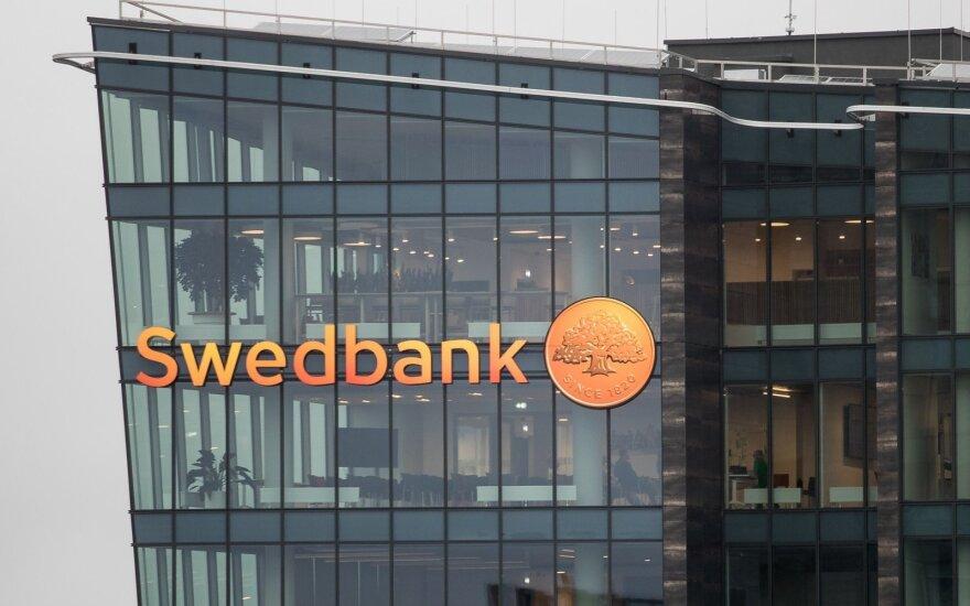 """Swedbank"" pelnas pernai augo 2 proc. iki 119 mln. eurų"