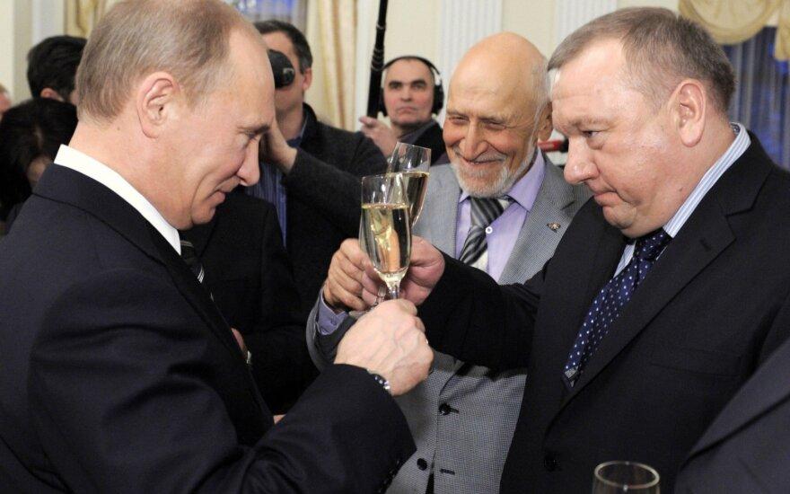 Vladimiras Putinas, Vladimiras Šamanovas