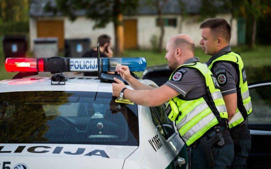Kėdainių rajone pareigūnai tarnybiniu automobiliu partrenkė stirną